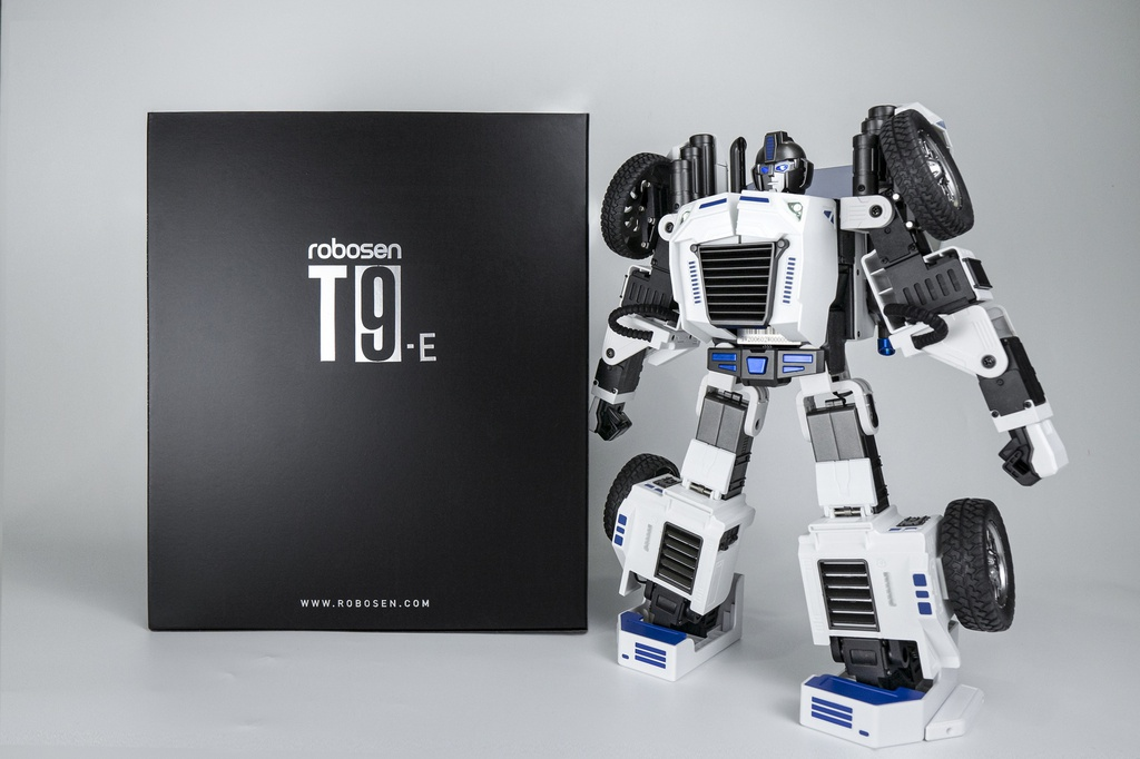 T9E Packaging and Robot